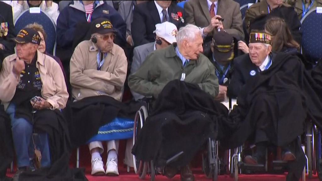 محاربون سابقون يستحضرون ذكرى عملية إنزال نورماندي