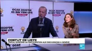2020-02-19 12:04 Conflit en Libye : quels sont les réels motivations de l'ingérence turque ?
