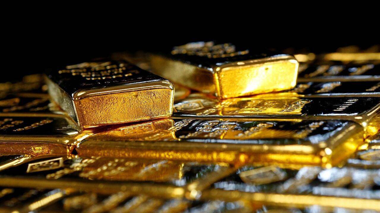 En esta imagen de archivo se ven lingotes de oro en la planta austríaca de separación de oro y plata 'Oegussa' en Viena, Austria, el 18 de marzo de 2016.