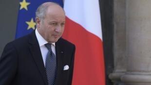 Laurent Fabius a quitté son poste au ministère des Affaires étrangères le 10 février.