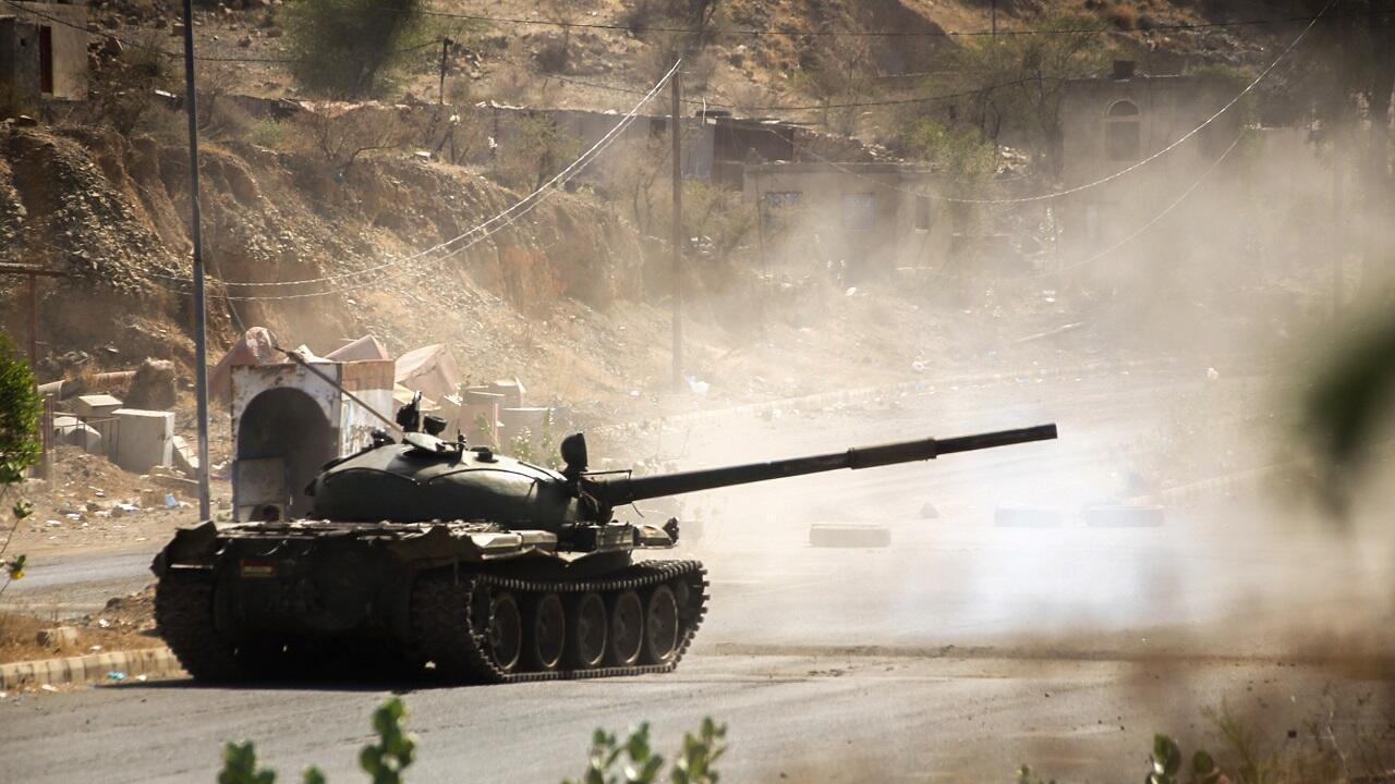 الحرب في اليمن.