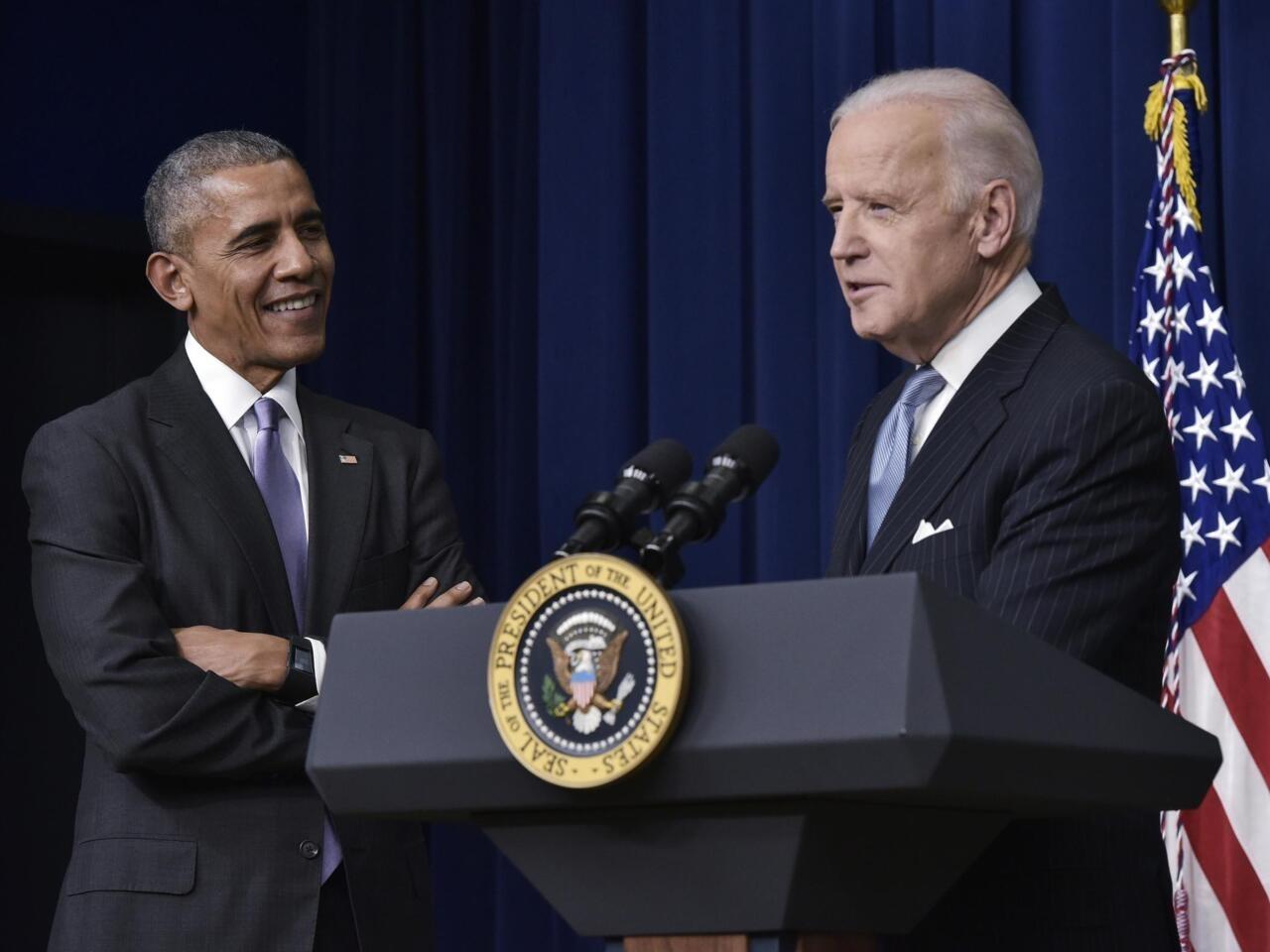 Barack Obama apoya la candidatura de Joe Biden a la presidencia de Estados  Unidos