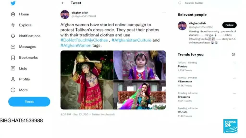 2021-09-15 02:04 Afganas en el exilio comparten en redes sociales la diversidad cultural y artística de su país