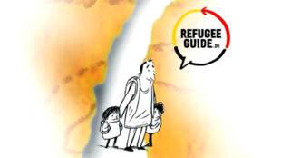 """Le guide """"s'adresse à toute personne se rendant en Allemagne, aux réfugiés et aux futurs citoyens""""."""