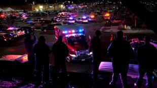 La escena del tiroteo registrado este miércoles en Thornton, Colorado.