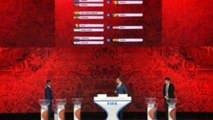 سحب قرعة أفريقيا المؤهلة إلى نهائيات كأس العالم لكرة القدم المقررة في روسيا