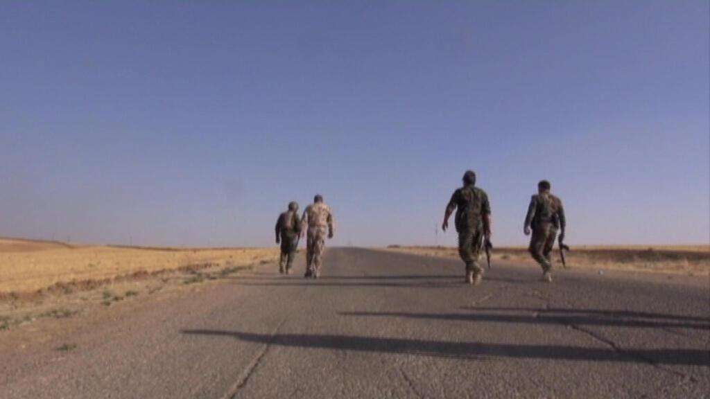 Les forces spéciales kurdes affirment avoir pour l'heure déminé 1,4 tonne d'explosifs.
