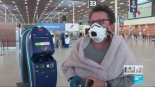 2020-03-31 16:09 Coronavirus en France : L'aéroport d'Orly se met en sommeil