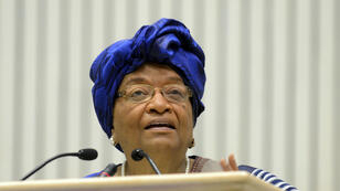 La présidente du Liberia Ellen Johnson Sirleaf.