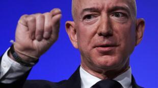Jeff Bezos le 19 septembre 2018 à National Harbor, Maryland