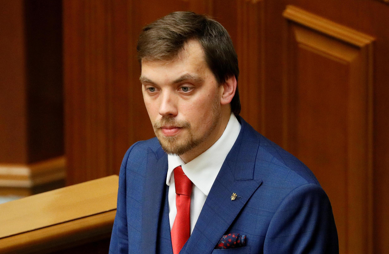 Ukraine's Prime Minister Oleksiy Honcharuk