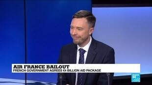 2021-04-06 11:13 Air France receives €4 bn state bailout