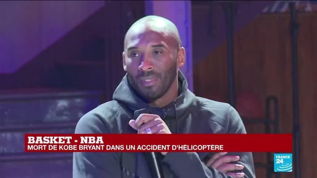 2020-01-26 22:00 Kobe Bryant est mort dans un accident d'hélicoptère