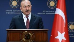 وزير الخارجية التركي مولود تشاوش أوغلو