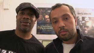 """Ékoué Labitey et Mohamed Bourokba, dit Hamé, du groupe La Rumeur racontent leur parcours dans le livre """"Il y a toujours un lendemain""""."""