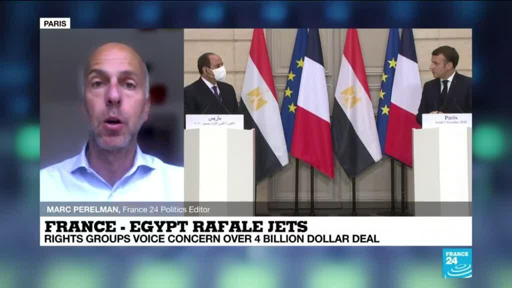 2021-05-04 14:17 Egypt buys 30 Rafale fighter jets from France, rights groups voice concern