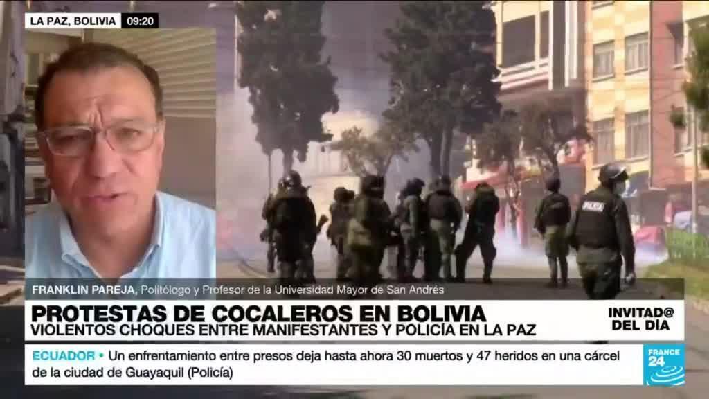 """2021-09-29 15:19 Franklin Pareja: """"El Gobierno boliviano debe dar claridad sobre la disputa de los cocaleros"""""""