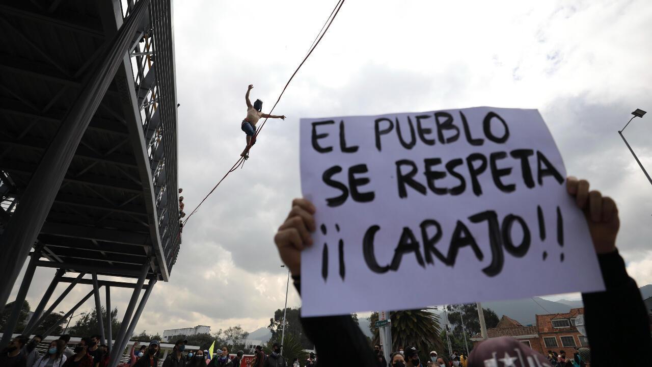 protesta colombia paro 28 abril
