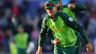 South Africa's Chris Morris, shown here in 2019, is now the most expensive player ever bought for the IPL