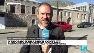 2020-10-12 08:06 Nagorno-Karabakh: Russian-brokered ceasefire frays as both sides allege attacks