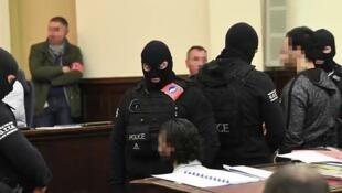جلسة محاكمة صلاح عبد السلام - بروكسل في 5 فبراير/شباط 2018