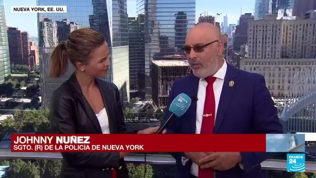 """2021-09-11 15:50 """"El olor a muerte no se puede olvidar"""": Johnny Nuñez, policía de Nueva York durante el 11-S"""