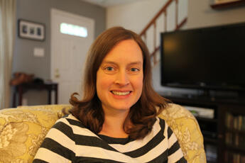 Anna Tush, a 33-year-old school psychologist, plans to vote for Obama.
