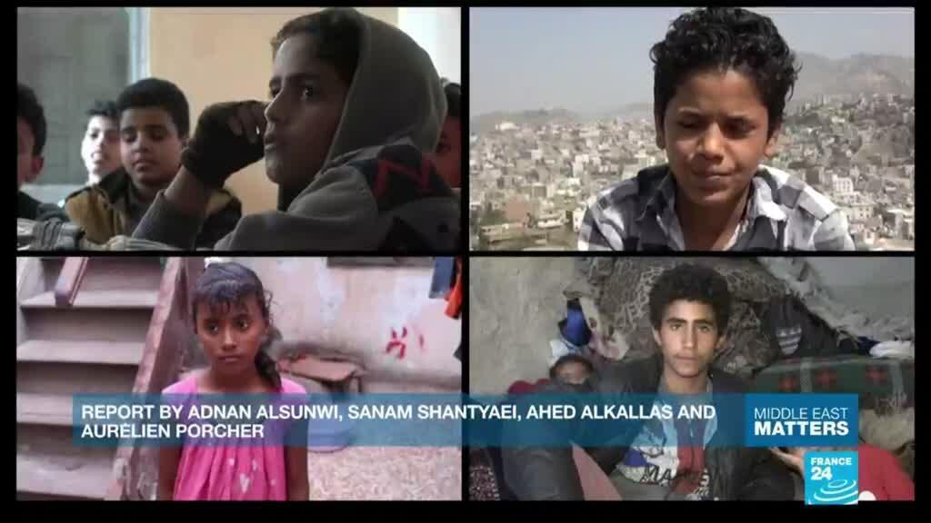 2021-02-09 17:54 Poverty, illness, fear... Kids speak out about the war in Yemen