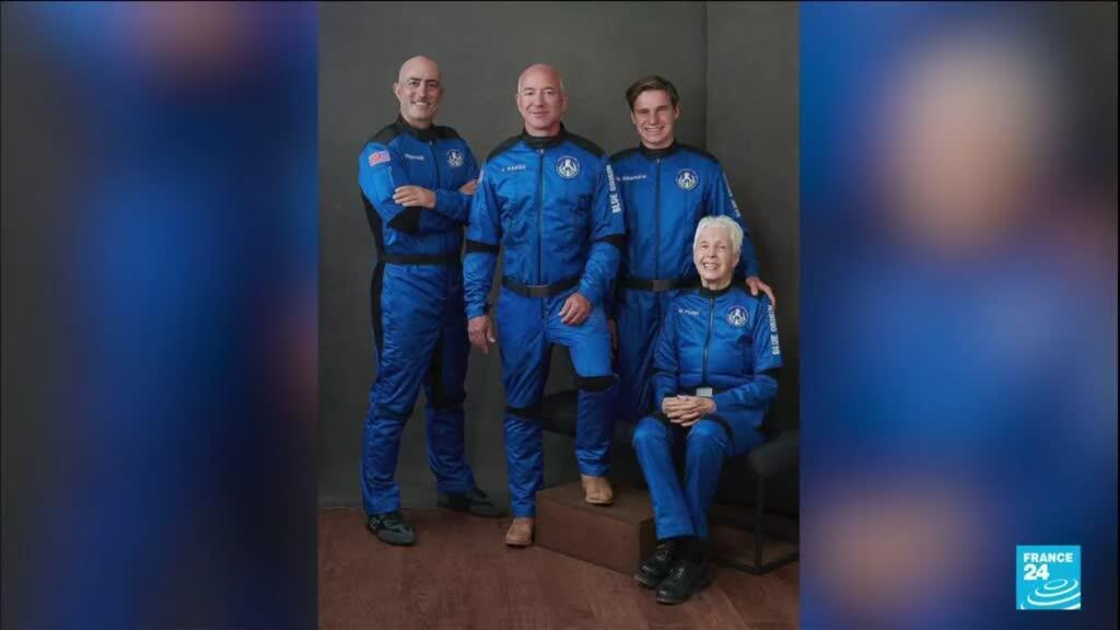 2021-07-20 13:11 Tourisme spatial : les milliardaires à la conquête de l'espace