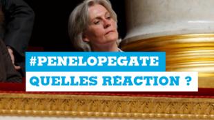 Penelope Fillon est mise en cause dans une enquête sur de présumés emplois fictifs.
