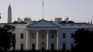صورة عامة للبيت الأبيض في واشنطن، الولايات المتحدة في 7 أكتوبر/تشرين الأول 2020.