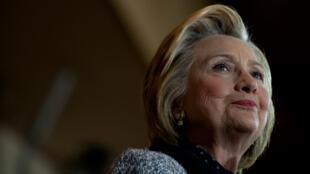 Hillary Clinton, le 14 juin 2016, lors d'un discours à Pittsburgh.