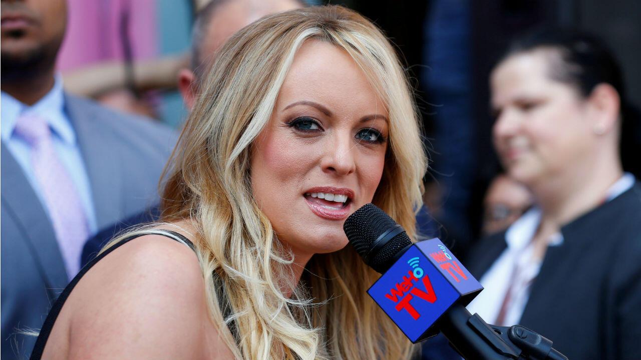 La actriz porno 'Stormy Daniels' vive una batalla legal con el presidente de Estados Unidos, Donald Trump.