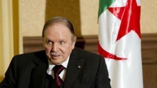 Le président Abdelaziz Bouteflika, au pouvoir depuis1999.