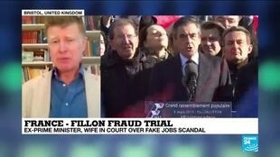 2020-02-24 13:40 FRANCE - Ex-premier Francois Fillon and his wife go on trial
