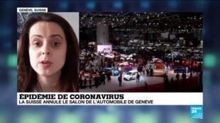 2020-02-28 14:07 Coronavirus : le salon de l'automobile Suisse annulé aux côtés d'une dizaine d'événements