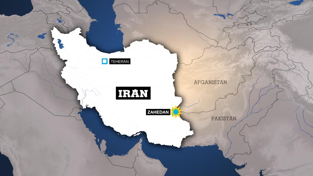 El atentado sucedió cerca de la ciudad de Zahedán, en las inmediaciones de la frontera con Pakistán
