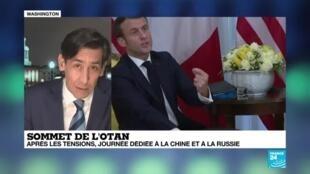 """2019-12-04 07:32 Sommet de l'OTAN : """"Les États membres vont renouer le dialogue faire à la menace de la Chine et de la Russie"""""""