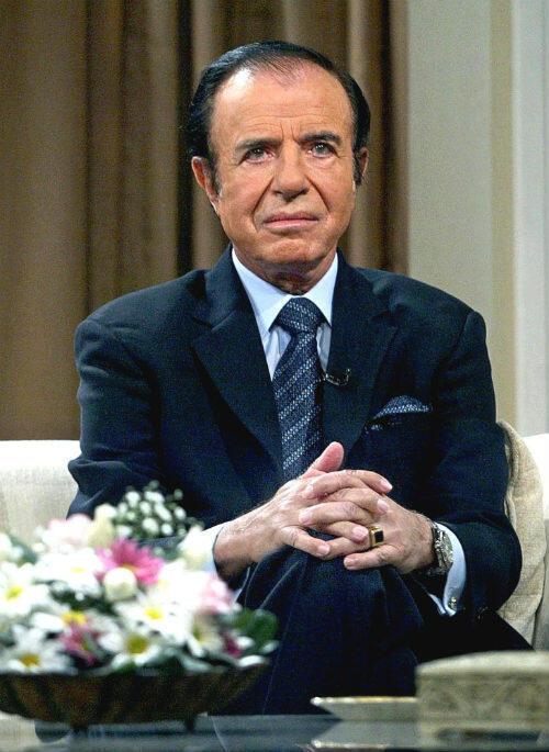 """Carlos Menem était surnommé """"el Turco"""" par ses adversaires politiques."""