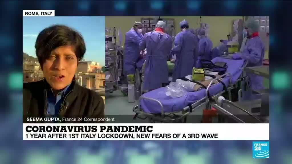 2021-03-10 09:02 Coronavirus pandemic: One year after first Italy lockdown, new fears of a 3rd wave