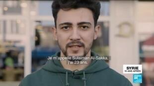 2021-03-16 16:06 De Homs à Berlin: la 'sucess story' d'un réfugié syrien en Allemagne