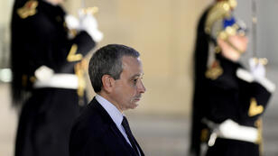 France's proposed ambassador to the Vatican, Laurent Stefanini, at the Elysée Palace in Paris during an April 10 reception for Indian Prime Minister Narendra Modi