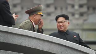 Le leader nord-coréen Kim Jong-un à Pyongyang, le 10 mai 2016.