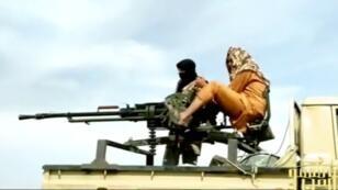 Capture d'écran d'une vidéo de propagande de 2013