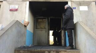 Le feu a ravagé l'entrée du foyer à Boulogne-Billancourt.