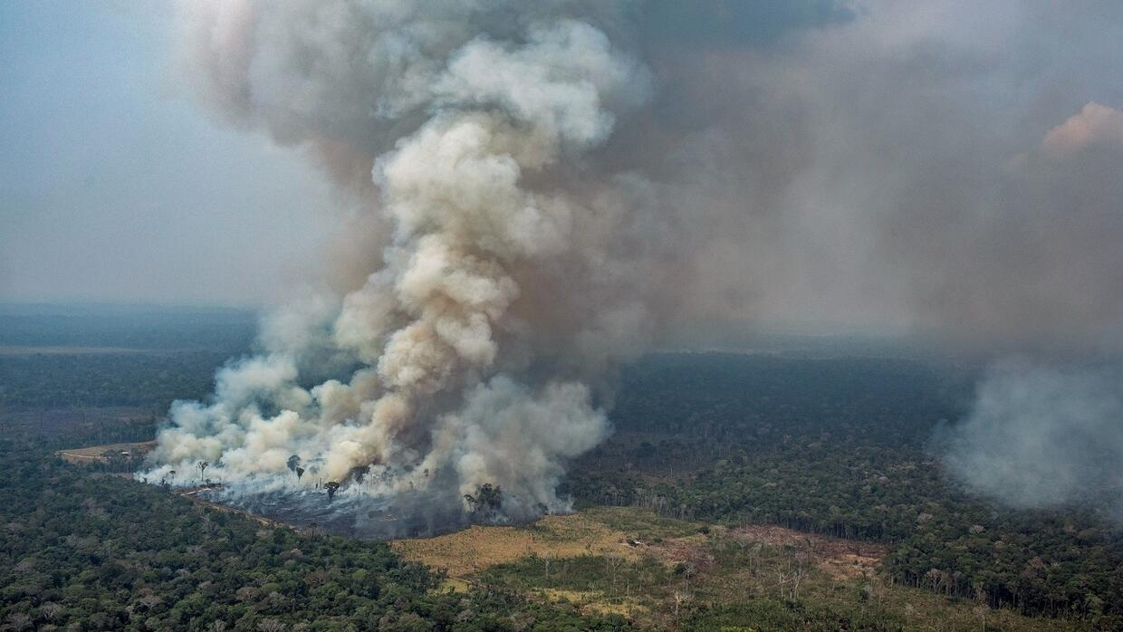 Brazil Deploys Troops Military Aircraft To Fight Amazon Fires