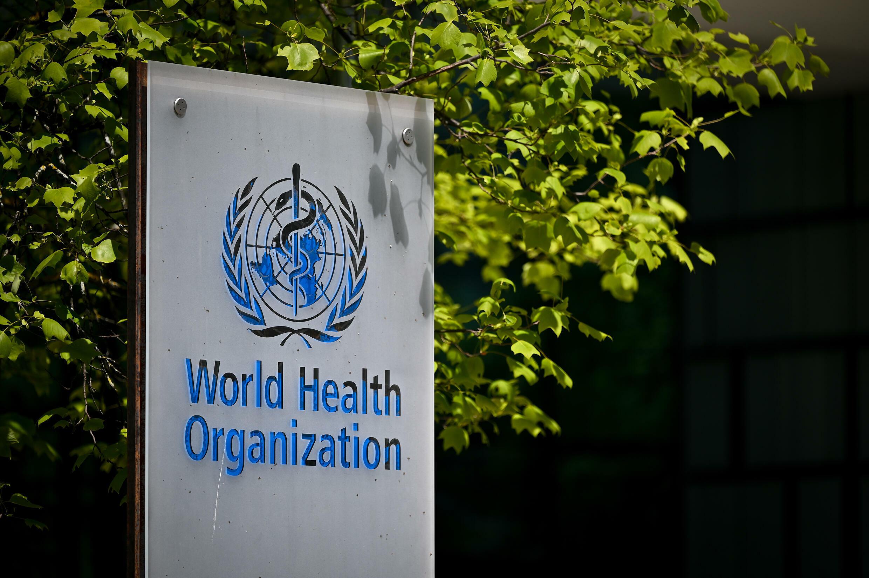 شعار منظمة الصحة العالمية.