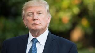 Donald Trump vient de signer un nouveau décret migratoire, dimanche 24 septembre 2017.