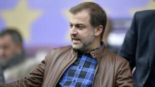 Mogi Bayat, ancien dirigeant du Sporting de Charleroi et agent influent dans le football.