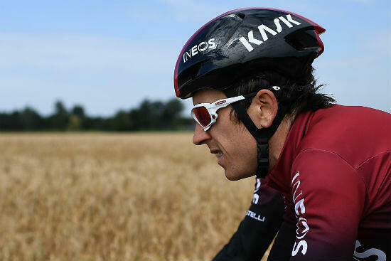 Geraint Thomas, gagnant du Tour-2019, aborde cette nouvelle édition dans la peau du favori.